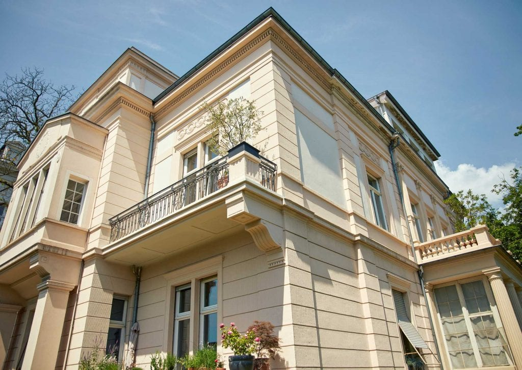 Kanzlei PBD Jugendstil Villa Wiesbaden Aussenansicht